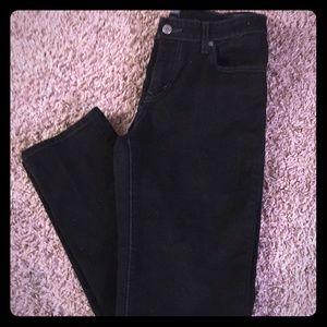 Levi's mid rise skinny jeans!